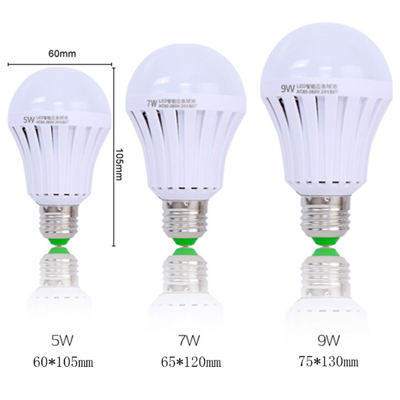 Brightinwd intelligent charging emergency led lighting bulb super brightinwd intelligent charging emergency led lighting bulb super bright power saving lamp outdoor lighting bulb 7w 9w bulb in led bulbs tubes from lights workwithnaturefo