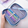 Тканевый чехол-карандаш на молнии с ручкой  светильник свежих цветов и мягкий чехол-карандаш для детей  школьников  дома  учебы  66789