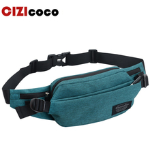 купить Cizicoco Brand Waterproof nylon Waist Pack Bag New Men Casual Shoulder Fanny Pack Women Belt Bag Pouch Money Phone Bum Hip Bag дешево