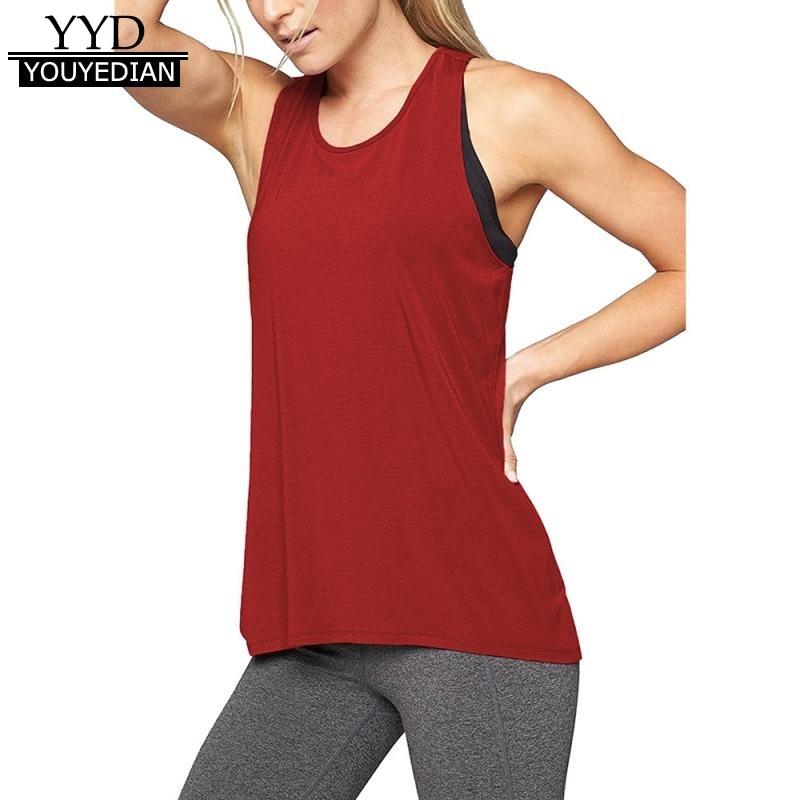 Women's cross back fitness sleeveless tank tops for women racerback workout active tank tops female vest summer 2018 *319