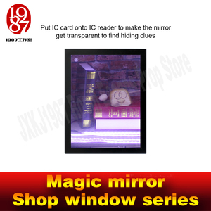 Image 2 - Real life room escape props magic mirror IC card version for real life chamber room from  jxkj1987 adventure room game props