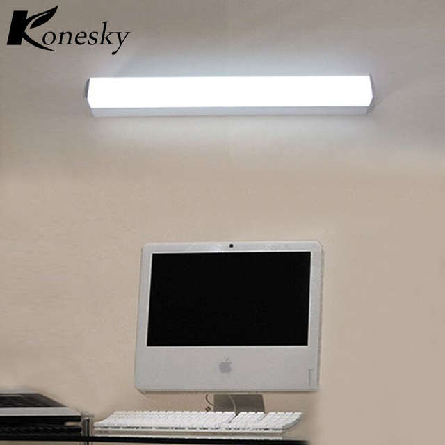 Konesky 12W LED Light Wall Lamp 2 Bare Wiring Wall Light Waterproof Mirror Bathroom Lamp for_640x640 konesky 12w led light wall lamp 2 bare wiring wall light waterproof