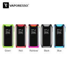 Original Vaporesso Revenger X 220W TC Box MOD Max 220W Output with OLED 0.96 Inch Display & OMNI Board 2.2 Chipset Ecig Vape Mod(China)