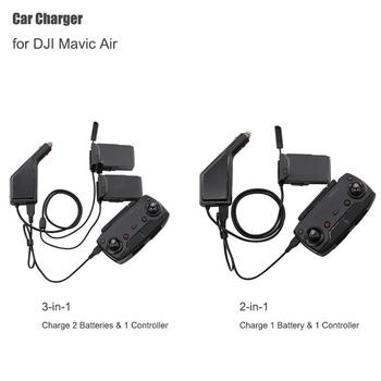 Ładowarka samochodowa do DJI Mavic Air inteligentny akumulator stacja ładująca Mavic Air złącze samochodowe USB Adapter Multi ładowarka samochodowa tanie i dobre opinie Drone pudełka Caden