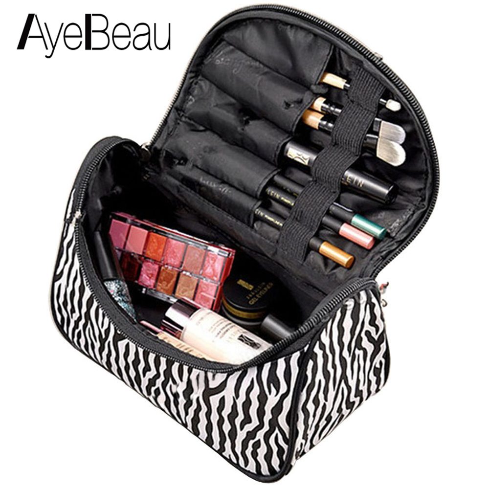 Necessaries Beautician Vanity Necessaire Beauty For Women Travel Toiletry Make Up Makeup Case Cosmetic Bag Organizer Wash Pouch