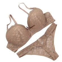 Luxury Sexy Thong France Embroidered Lace Bra Sets