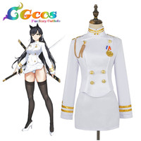 Free Shipping Cosplay Costume Azur Lane Azur Lane Atago Uniform Halloween Christmas Party Any Size A