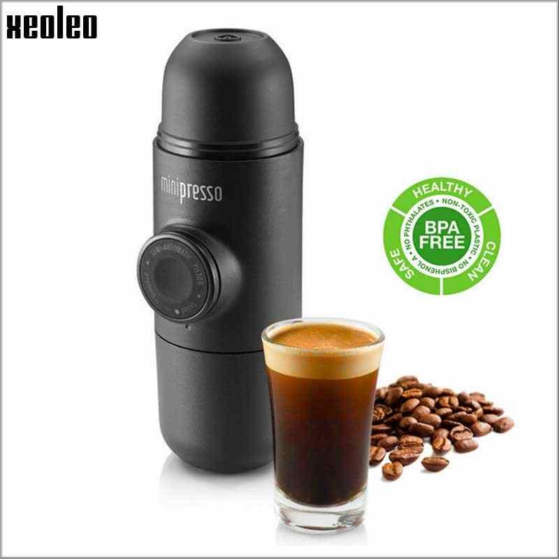Wacaco Minipresso Handpress Cápsula & Pó de Café máquina de café Manual da máquina de Café máquina de Café Expresso Portátil viagem Ao Ar Livre