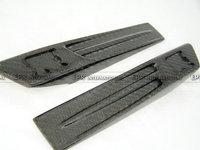 Car Styling Carbon Fiber GTR Logo Fender Emblem Replacement Garnish Accessories For Nissan R35 In Stock