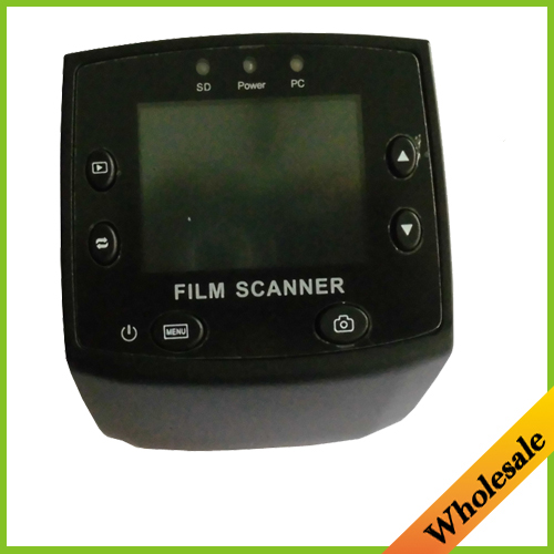 2.4LCD Digital Color Photo Film Converter Slide Scanner 5MP 35mm USB Negative Film Slide Viewer Scanner,free shipping