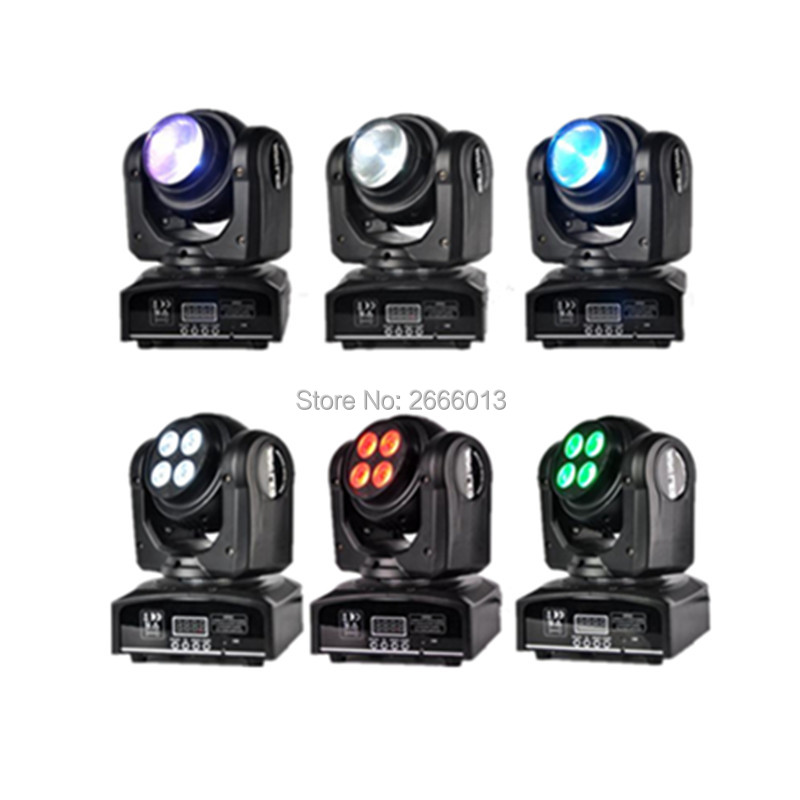 6pcs Double Face LED Spot light DJ Stage LED Moving Head Light Two Effect Disco Lighting RGBW 4in1 DMX512 wash beam effect Light 2pcs lot rgbw double head 8x10w led beam light mini led spider light dmx512 control for stage disco dj equipments free shipping
