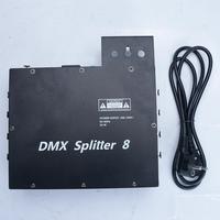 DMX Splitter 8 way DMX512 splitter 8 output stage lighting controller splitter for stage light control