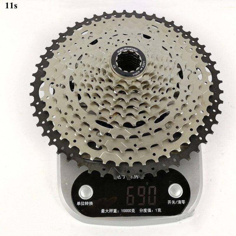 Roue libre de vélo de course 11-42 T 11-46 T 11-50 T 11-52 T 11 vitesse vtt vélo Cassette volant d'inertie