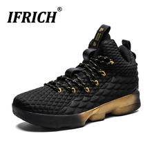 Basketball Shoes Men Ifrich 2019 Spring Autumn Sneakers Breathable Mesh Athletic Non Slip Damping Boots Man