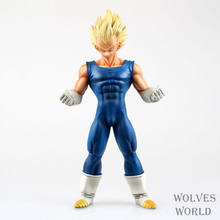 26cm Japanese anime figure dragon ball Super Saiyan Vegeta action figure collectible model toys for boys(China)