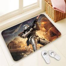 Best Nice Custom star wars Doormat  Home Decor 100% Polyester Pattern Door mat Floor Mat foot pad SQ00722-@H0689