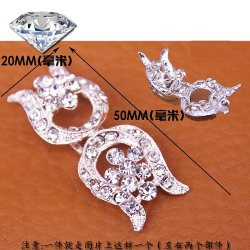 Arts,crafts & Sewing Apparel Sewing & Fabric Just Hot High Grade Button Diamond Buckle Mink Fur Mink Coat Mink Hair Button Drill Buckle Charm For Fashion Charm On The Buckle Show