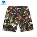 Крышка волна летом пляж брюки мужские quick dry размер свободные водоотталкивающие пляж sea плавательные шорты шорты