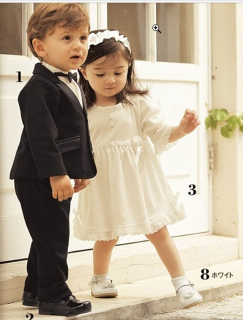 5c8c989a6 Del otoño del resorte de la ropa de los niños chico formal