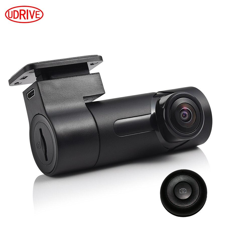 Otstrive Car Truck Mini Hidden WiFi DVR Wide Angle Dash Cam Camera WiFi Night Vision DVR Video Recorder Camcorder DVR