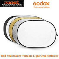 Godox 5 In 1 Multi Photo Collapsible Light Reflector Oval 100 X 150cm 40 X 60