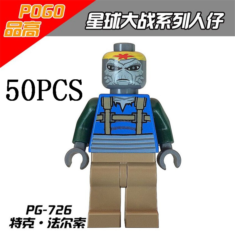 gifts Pogo Wholesales PG726 50PCS Star Wars Rogue One Turk Falso Building Blocks Bricks Compitable Legoe Toys