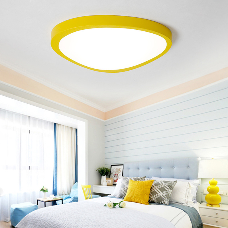 Xsky Macaron Color Led Ceiling Lamps Ultra Thin 5CM Nordic LED Ceiling Lights Luminaria Led Living Room Kids Room Home Lighting