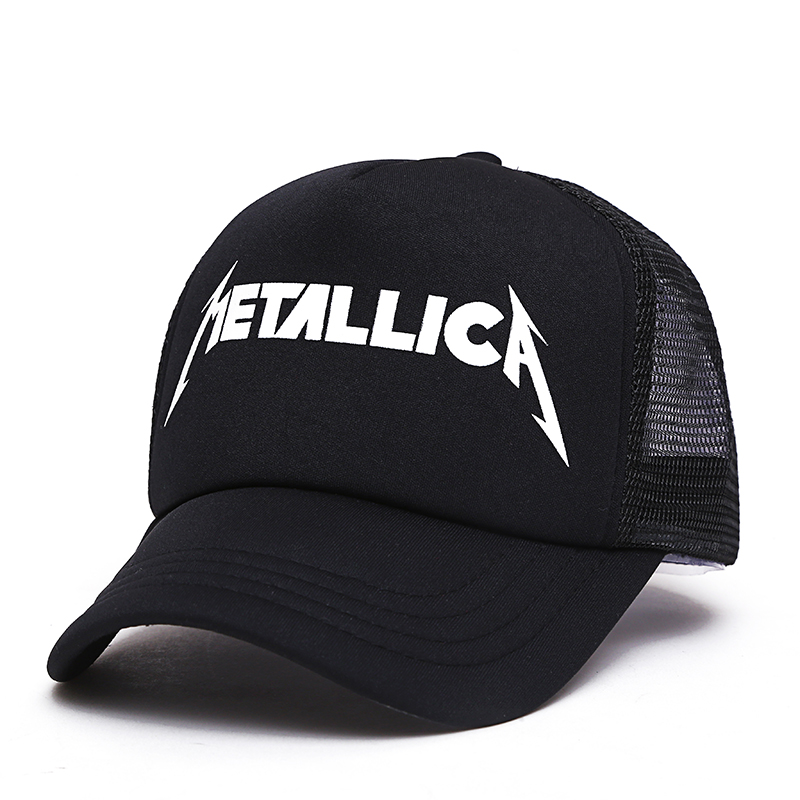 VORON 2017 fashion Metallica print Custom Unstructured Baseball cap truck driver Hat Adjustable men women networ Cap Band black 2017 fashion papi unstructured baseball dad hat cap new men women cotton adjustable baseball cap black