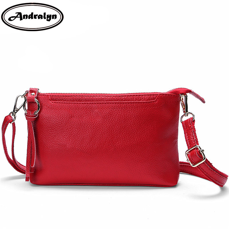 Andralyn Small Shoulder Bags Women Clutch Leather Female Purse for Mobile Phone Ladies Purse Female Cross-body Bag Messenger Bag mlhj fashion female genuine leather small shoulder bag women clutch bag luxury women messenger cross body crossbody bag woman