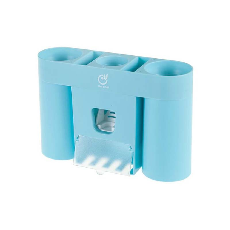BF040 Viscose type automatic toothbrush holder toothpaste dispenser wall type toothbrush with magnet storage rack 20 6 13 5cm in Storage Shelves Racks from Home Garden