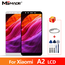 купить 5.99 For Xiaomi Mi A2 LCD Display Screen Touch Digitizer Assembly Parts For Xiaomi 6X LCD With Frame For Xiaomi A2 Global LCD недорого