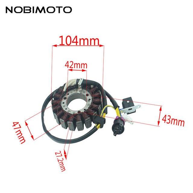 motorcycle generator magneto stator coil comp fit for linhai 250cc rh aliexpress com