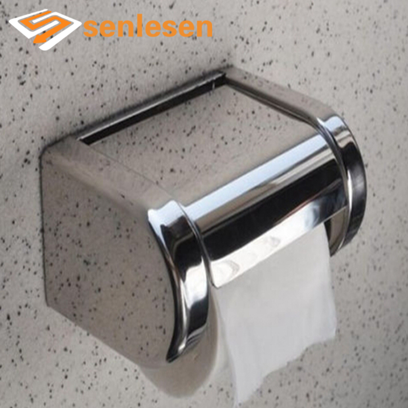 Home Improvement Bathroom Fixtures White Multi-function Bathroom Toilet Paper Holder Place Mobile Phone Toilet Paper Dispenser Tissue Box Cleaning The Oral Cavity.
