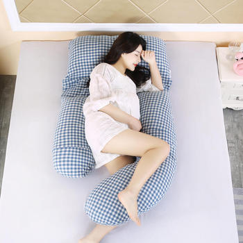 Bonenjoy Body Pillow 100%Cotton High Quality Pregnancy Pillow Relax Arms and legs Long Pillow Well Sleeping Pregnant Pillow