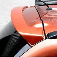 For Outlander Spoiler puls ABS Material Car Rear Wing Primer Color Rear Spoiler For Mitsubishi Outlander Spoiler 2013 2017