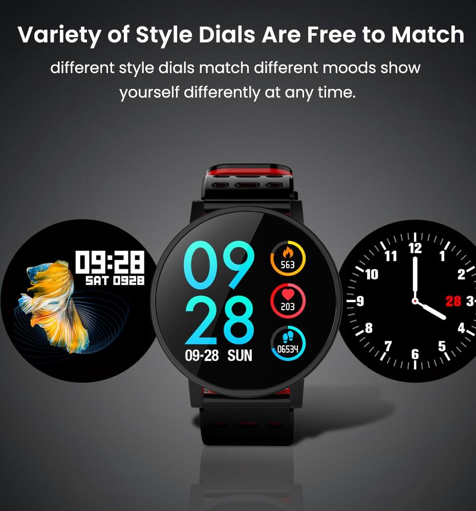 Makibes T3 IOS Android Smart Watches Men Women HR Blood Oxygen Blood Pressure IP67 Waterproof Activity Fitness Tracker PKV11 6