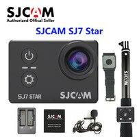 Оригинальный SJCAM SJ7 звезды wifi Ambarella A12S75 4 К 30fps Ultra HD Водонепроницаемый действие Камера 2,0 Сенсорный экран дистанционного Спорт DV
