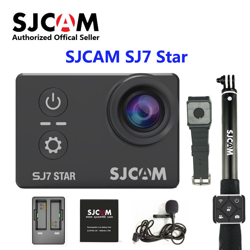 sjcam sj5000 plus ambarella a7ls75 sport camera Original SJCAM SJ7 Star wifi Ambarella A12S75 4K 30fps Ultra HD Waterproof Action Camera 2.0   Touch Screen Remote Sports DV