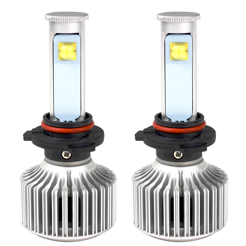 2pcs All-in-one 9005 LED Car Headlights Head Lights Version of X7 LED Automobiles Headlamp Super Bright 6000K 3600LM Car Styling