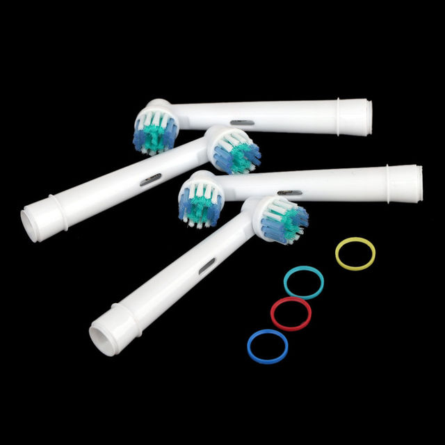4pcs/set Electric Toothbrush Heads SB-17A Replacement Soft-bristled Brushes Fit For Oral-B Professional Care Toothbrush Set