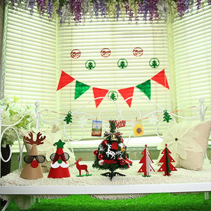 christmas decorations suits merry christmas decorations set banner xmas tree party decor in pendant drop ornaments from home garden on aliexpresscom - Merry Christmas Decorations
