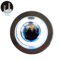 Led Magnetic Levitation Desktop Gift Auto Rotating Floating Globe Office Illuminated Earth Home Decorative Anti gravity 4 Inch