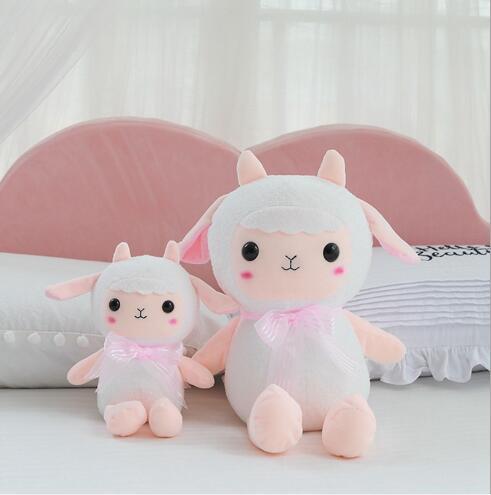 WYZHY bas coton mouton petite poupée de beauté en peluche jouet en peluche chevet ornements pour envoyer des amis et des enfants cadeaux 50 CM