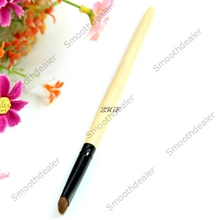 2017  1pc New Bamboo Handle Short Eye Shadow Makeup Brush Cosmetic Beauty Tool  JUL25_46