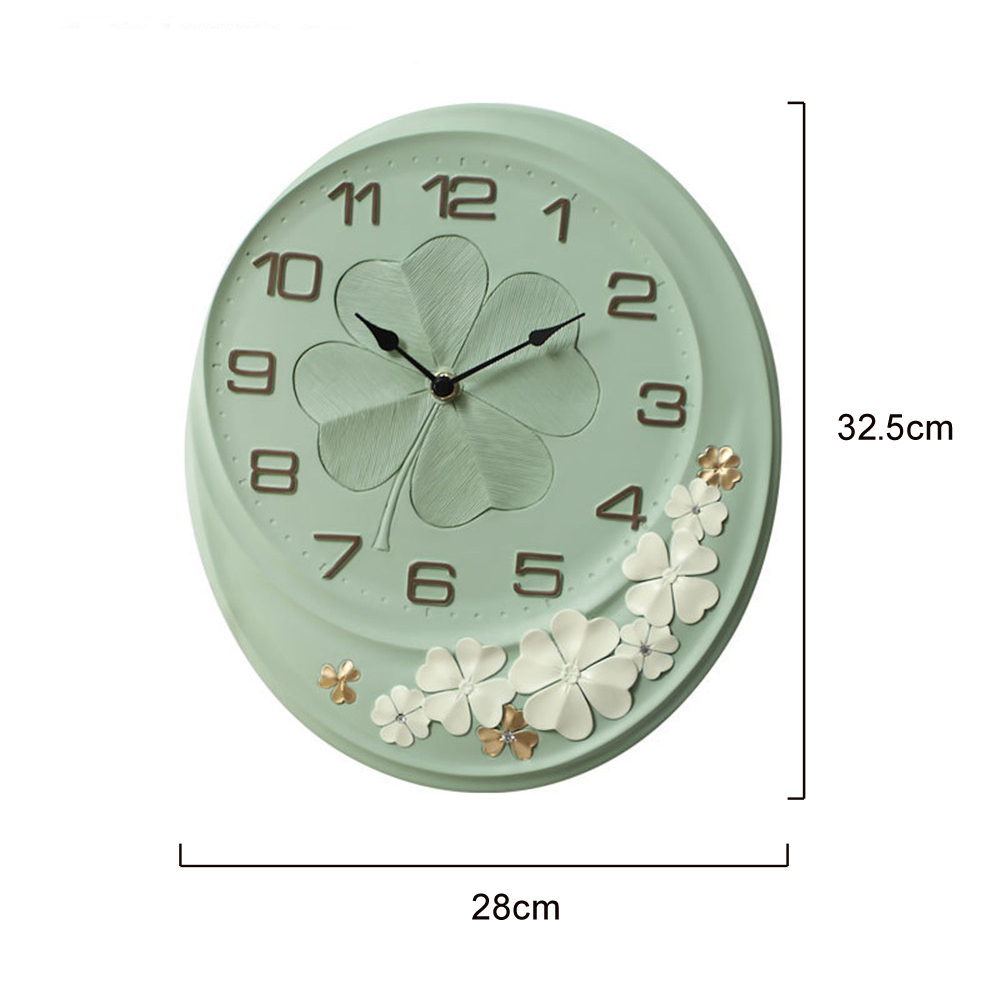 Européen chanceux horloge murale montre mécanisme rose Pow patrouille aiguille Secret planque Quartz horloges murales maison Relogio Parede décor ZB243