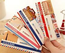 1pcs/lot Vintage London Paris sticky note notepad stickers Memo marker paper fashion gift zakka office School supplies
