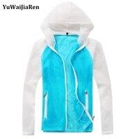 YuWaiJiaRen Men S Thin Jackets Hooded Casual Sporting Coat Waterproof Windproof Hooded Jacket Fashion Outerwear Windbreaker