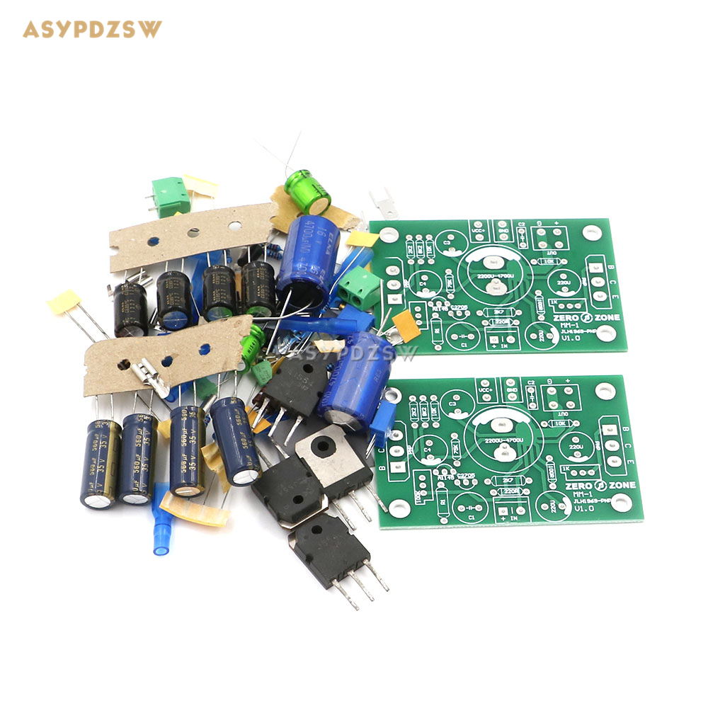 Atom BR Version PNP MOS FET J554-JLH1969 Single-ended Class A power amplifier DIY kit (2-channel) free shipping 1000pcs n channel fet si2300 2300 3 6a 30v sot23 mos tube