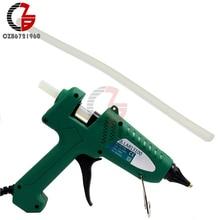 10 шт. практичные 7 мм* 25 см Прозрачные термоклеевые клеевые палочки для нагревания клеевого пистолета