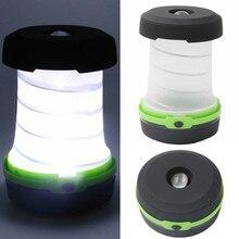 Переносная лампа для кемпинга Многофункциональный Выдвижной светодиодный Flashilight мини-палатка с лампой аварийного света карманный фонарик для использования вне помещений
